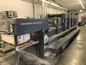 Heidelberg Sm 102fp H L With Tower Coater 1994 Cpc Cp Tronics