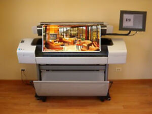 Hp Designjet T1100mfp 44 Wide Large Format Copier With 1 Year Warranty