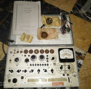 Tv 3b u Tube Tester By Hickok Electrical Instrument Company
