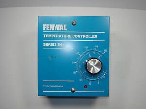 Fenwal Temperature Controller Series 544 Type J Thermocouple Input