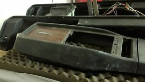 1968 1969 Camaro Console With Gauges No Cracks Ss Pace Car 396 350 Rs R S Copo