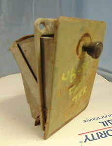 1948 1949 1950 Era Ford Pickup Truck Ash Tray F1 F2 F3 Original Patina