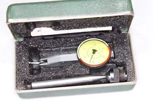 Federal Testmaster T 9 Jeweled Indicator W Case Attachments