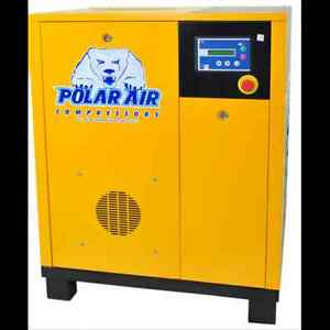 7 5 Hp Single Phase Rotary Screw Air Compressor Eaton 10yr Wty No China Parts
