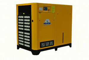 75 Hp 3 Ph Rotary Screw Air Compressor 10 Year Warranty No China Parts