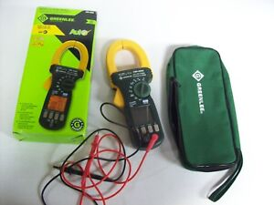 Greenlee Voltage Tester In Box W Bag Barely Used Cmi 2000