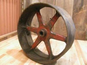 Rare Big 917d International Mccormick Deering Ihc 10 20 Tractor Flat Belt Pulley