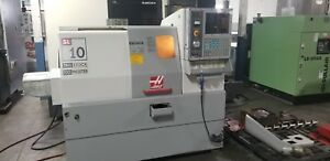 Haas Sl 10t Cnc Turning Center