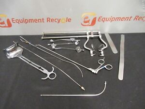 Assorted Lot Endoscopic Surgical Laparoscopic Medical Instruments