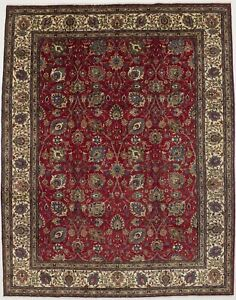 Astonishing Allover Floral Vintage Persian Rug Oriental Home D Cor Carpet 10x13