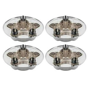4pcs Hub Wheel Center Caps For 1997 1998 1999 2000 Ford F 150 Expedition
