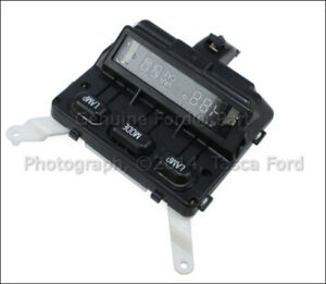 New Oem Front Overhead Console Compass Ford Explorer Sport Mercury Mountaineer
