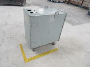 Federal Pacific Electric 90622 Dry Type Three Phase Transformer 30 Kva 480 To 24