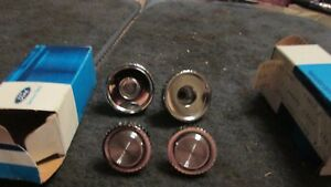 Nos 1977 1978 1979 Ford Ltd Ii Ranchero Thunderbird Radio Knobs Set Of 4 Nos New