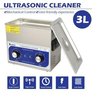 3l Ultrasonic Cleaner 40 Khz Stainless Steel Dental Washing Machine
