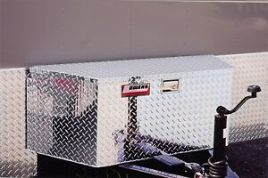 Owens Products 45001 Garrison Trailer Tongue Toolbox Standard 35 Universal Fla