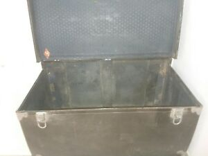 Original 1930 S Packard Motor Car Trunk With Original Packard Plate Attach