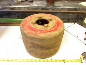 Nice Old International Harvester Farmall M Tractor Belt Pulley