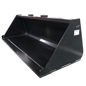 72 Skid Steer Bucket Attachment 1 8 Thick For Dirt And Debris Loading
