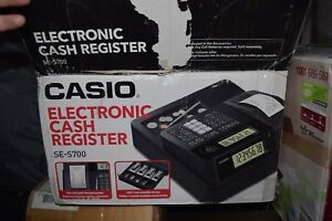 Casio Se s700 Thermal Print Electronic Cash Register