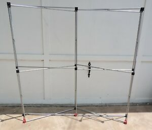 5 X 5 Pop Up Trade Show Exhibit 4 Panel Display Booth Frame Stand