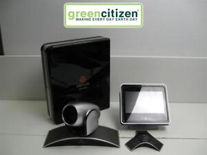 Polycom Hdx 8000 Video Conference System W Camera mic touch Control Panel