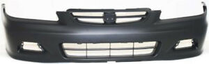 Primed Front Bumper Cover Replacement For 2001 2002 Honda Accord Coupe