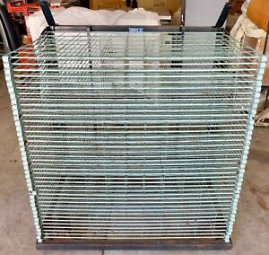 Rackette American Screen Printing Drying Art Rack Mobile Dry Rack Trolley