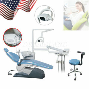 Dental Chair Unit Computer Control Exam Chairs Water Supply Hve se Syringe Fda A