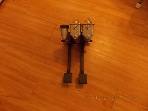 Wilwood Dual Pedal Clutch brake Pedal With 3 Wilwood Master Cylinders