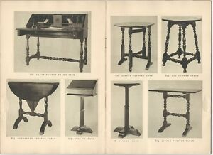 Wallace Nutting Period Furniture The 1920s Trade Catalog 1926 Price List