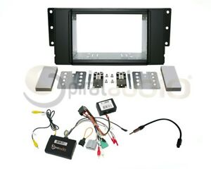 Land Rover Lr2 2008 2012 Radio Dash Kit Combo Fiber Optic Swc Antenna Lr37