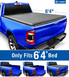 Fits 2019 2020 Ram 1500 no Classic 6 4 Bed Tyger T1 Roll Up Tonneau Cover