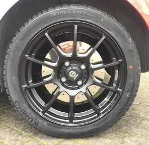 Alloy Wheels All Weather Season Tyres Sparco All Assetto Gara Black Maxxis 16