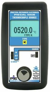 Pie 520b k Thermocouple Calibrator Single Source For K Type Thermocouples