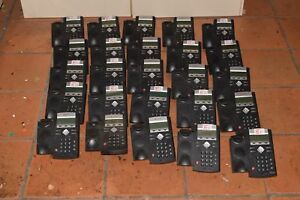 Polycom Soundpoint Ip 335 Ip335 Lot Of 25 Voip Telephones W 25 Handsets d4