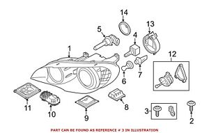 For Bmw Genuine Headlight Restoration Kit 63127195535