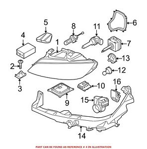 For Bmw Genuine Headlight Restoration Kit 63117182519