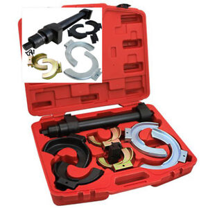 Universal Interchangable Fork Strut Coil Clamp Spring Compressor Extractor Tool
