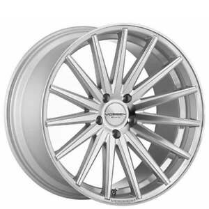 4rims 20 Staggered Vossen Wheels Vfs2 Silver Polished Rims