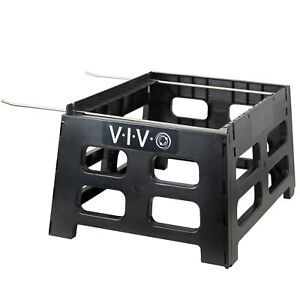Vivo Black Plastic Bee Hive Stand Beekeeping Hive Support Tool