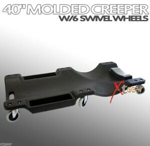40 Molded Creeper Auto Mechanic Slider W Swivel Wheels For Vehicle Repairs