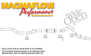 Magnaflow 15912 Stainless Steel 4 Exhaust Chevy Gmc 2500 3500 Duramax 2001 2004