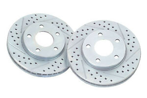 Baer 3295 020 Drilled Rotors Honda Civic Acura Integra