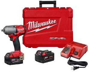 Milwaukee 2852 22 M18 Fuel 3 8 Mid Torque Impact Wrench 5 0ah Battery Kit