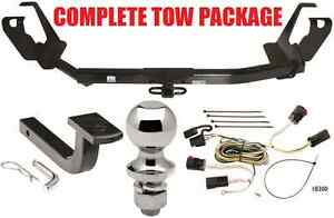 2005 2007 Dodge Grand Caravan W Stow Go Seats Complete Trailer Hitch Package