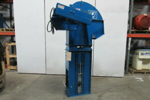 Single Bucket Elevator 12 wide W 60 Discharge 208 230 460v 3ph