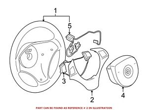 For Bmw Genuine Steering Wheel Trim 32306783048