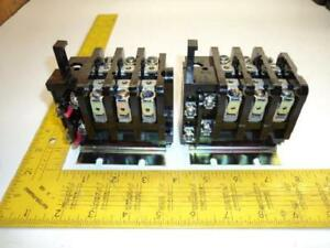 Lot Of 2 General Electric Cr324d360a Motor Control Overload Relay T19183