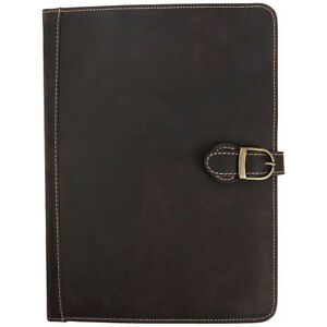 Canyon Outback Lee Canyon Leather Meeting Folder media Business Accessorie New